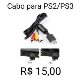 Título do anúncio: Cabo PS2 PS3