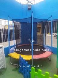 Alugo pula pula 100 reais por 24h