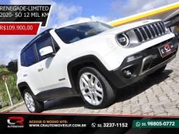 Jeep renegade 2020 1.8 16V FLEX limited 4P automático