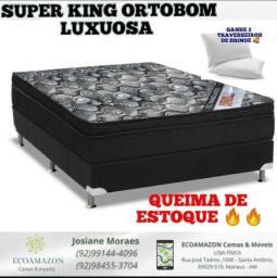 Super king ortobom a preço de fabrica.