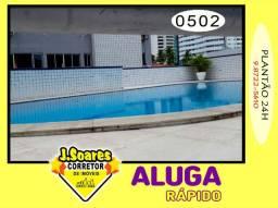 Miramar, Mobiliado, 4 quartos, 2 suítes, 128m², R$ 3000, Aluguel, Apartamento, João Pessoa