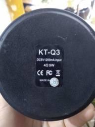 Caixa bluetooth KT-Q3 em ótimo estado.