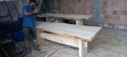 Contato * mesas rústica