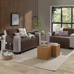 Título do anúncio: Protetor de sofa retrátil 2 e 3 lugares
