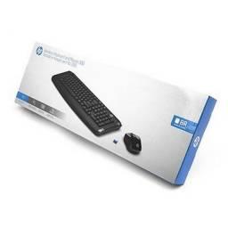Kit Teclado + Mouse sem Fio HP 300 Preto - 3ML04AA#AC4 - Novo