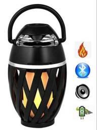 Caixa de Som Bluetooth Lamparina (Entrega Grátis)