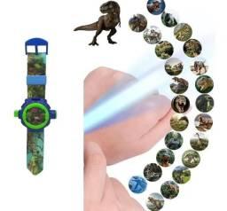 Título do anúncio: Relógio Infantil Masculino Com Projetor Dinossauro Luminoso