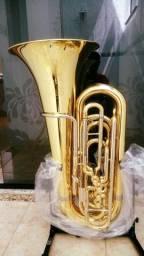 Tuba 3/4 Sib - Weingrill Nirschl Wntu3L Nova/Troco-Parcelo 12x