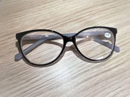 Armações de óculos de grau masculino e feminino