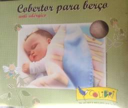 Cobertor colibri e protetor de carrinho e bebe conforto