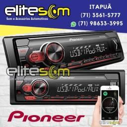 Mp3 Pioneer Mvh-s218Bt com Bluetooth Usb na Elite Som