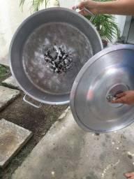 Panela de alumínio profissional