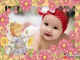 Decoração de foto para bebês