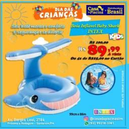 Título do anúncio: Boia inflável Baby Shark
