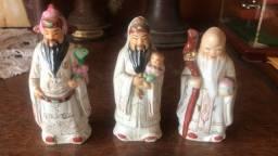 Chineses orientais porcelana