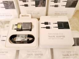 Carregador Original Samsung 15w Fast Charge.  Novo.