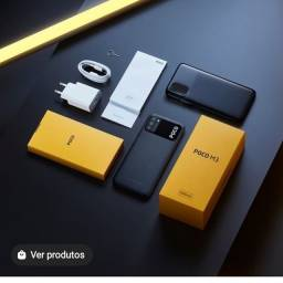 Título do anúncio: Smartphone  Poço m3 de 128gb ultra potente super novo e lacrado na caixa