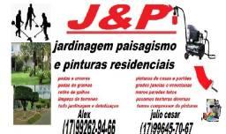 J&P jardinagem e pinturas residencial(17)99262-94-66 Whuatsapp