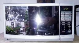 Microondas LG inox espelhado 110/volts 27/litros