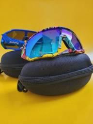 Óculos Ciclismo Photochromic Uv400 Espelhado Mtb Polarizado