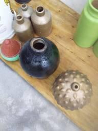 Garrafas peças decorativas artesanato