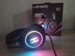 Título do anúncio: Headset Gamer Com RGB Lehmox Gt-F3 - Para Computador e Notebook