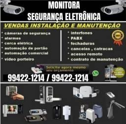 Cerca Elétrica Interfone Fechadura Elétrica CFTV Manutenção de Portão