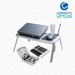 Mesa Notebook C/ 2 cooler Pronta Entrega