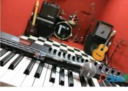 Aula de instrumentos para iniciantes