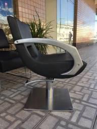 Cadeira Haisan de cabeleireiro