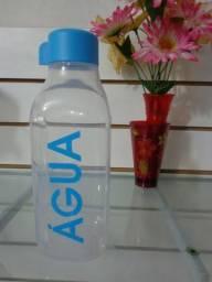 2 garrafas de água de 1 litro quadrado