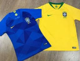 e2bdccdda2 Camisa Seleção Brasileira 2018 Modelo Nike Torcedor