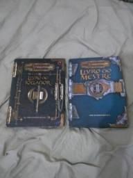 Livros Jogador e Mestre D&D