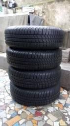 Jogo de roda de ferro aro 14/4 furo originais Ford Ka Ford Fieta dos novo e outros