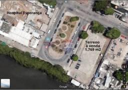 Título do anúncio: Terreno à venda na Ilha do Leite em frente do Hospital Esperança