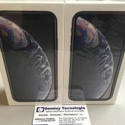 Iphone XR 128GB preto caixa lacrada e Nf