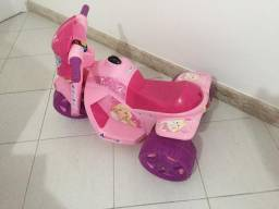 7f44345912 Moto elétrica infantil Banmoto Rosa - Aceito Cartão
