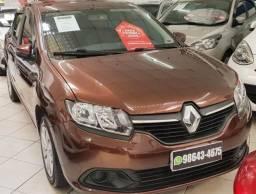 Renault logan 1.0 expression completo, 2015,IPVA 2020 pago 1° parcela , sem entrada!!! - 2015