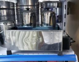 Esterilizador 2 bules para cafe/ leite/ agua (novo) Alecs