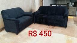 Sofa ipê conjunto dois e três lugares