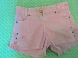 Shorts Infantis (Menina)