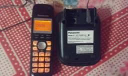 Telefone Sem Fio Panasonic KX-TG4061LAT Com Ind De Chamadas
