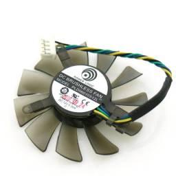 Cooler Fan Ventoinha 55mm Placa De Video Pld06010s12l 4 Pinos Pwm