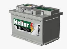 Bateria Para Carro Heliar Tenologia AGM de 70 AH - R$1.430,00 Bateria para Creta 2.0