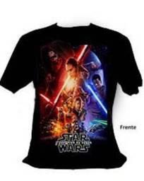 Usado, Camiseta Personalizada Star Wars O Despertar da Força Frete Gratis comprar usado  Salvador