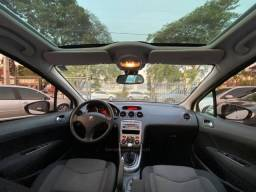 Peugeot 308 Allure Mt 2.0 flex 2014 - Teto Panoramico