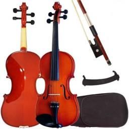 Violino + Espaleira + Case