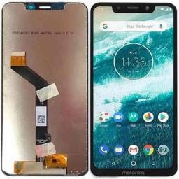 Tela Frontal Touch + lcd Motorola One/ One Vision/ One Action/ One Zoom