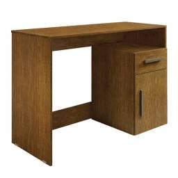 Escrivaninha R277 1,10m c/ 1 porta e 1 gaveta e nicho organizador