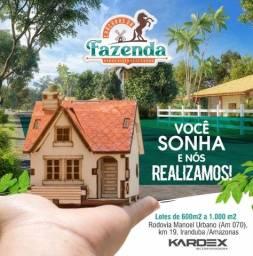 Chácaras Fazenda 2, ainda melhor e mais perto de Manaus, com os mesmos valores
